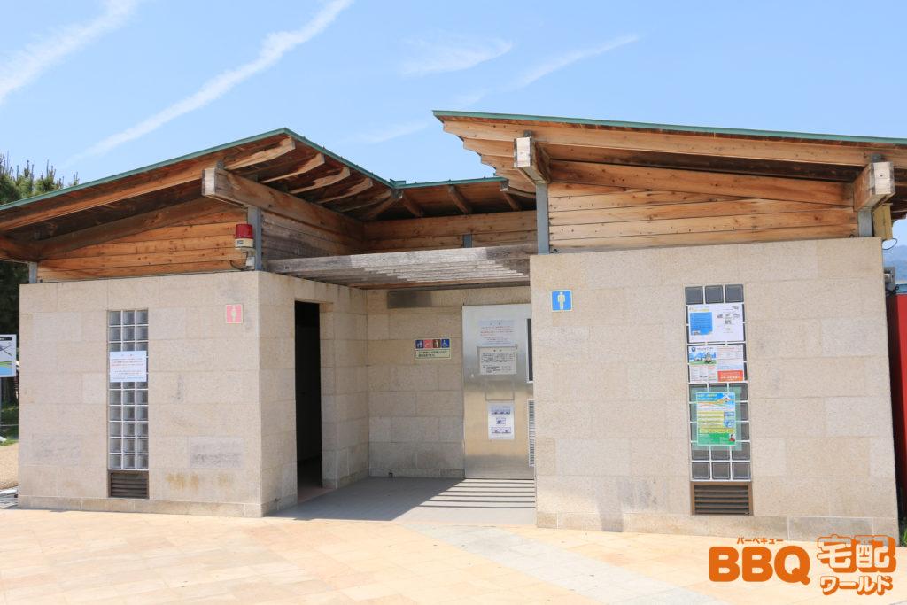 芦屋浜BBQコーナートイレ