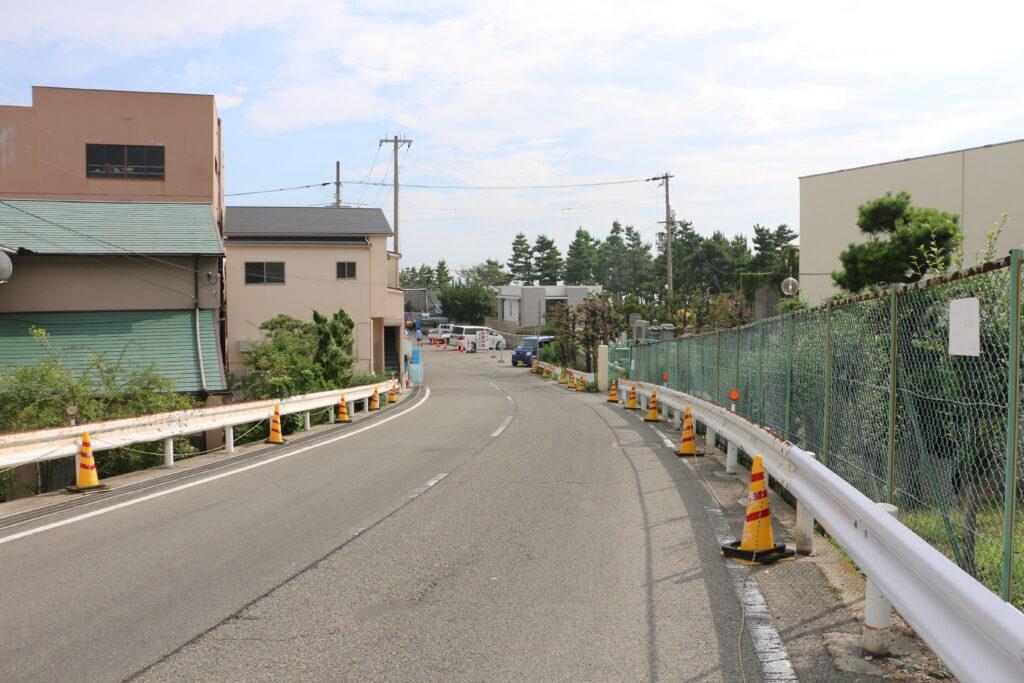 林崎松江海岸駅からBBQエリアまでのアクセス12