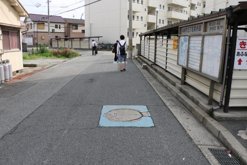 林崎松江海岸駅からBBQエリアまでのアクセス6