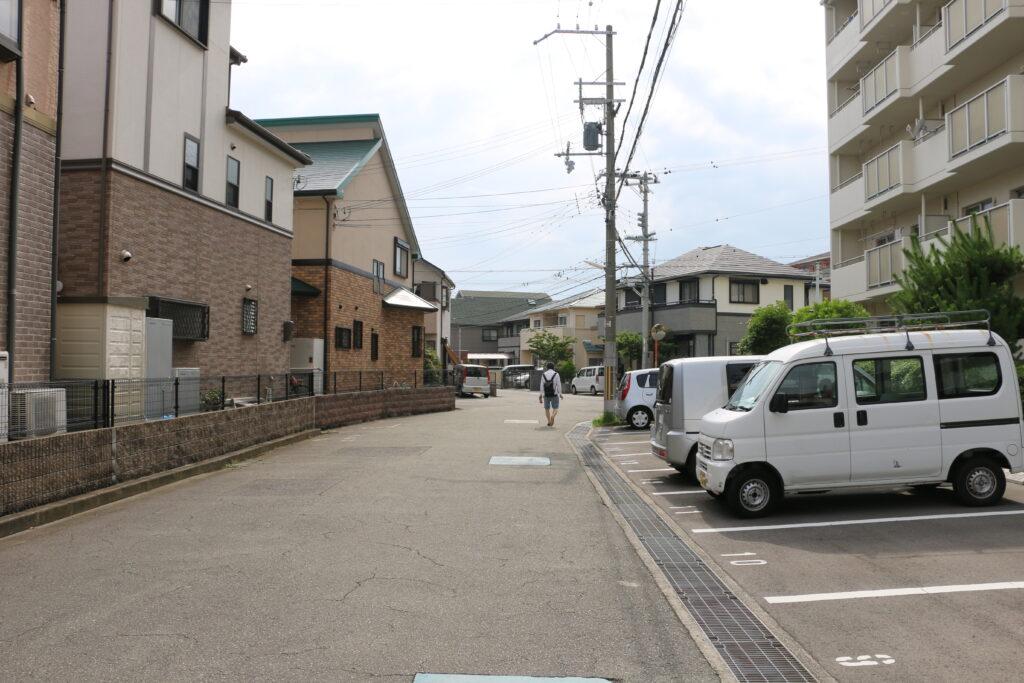 林崎松江海岸駅からBBQエリアまでのアクセス7
