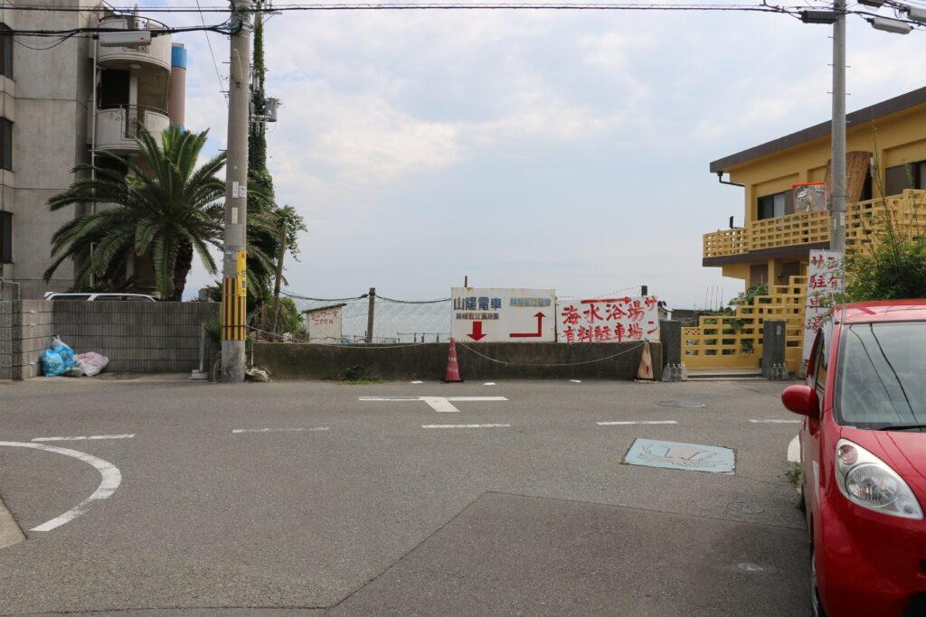 林崎松江海岸駅からBBQエリアまでのアクセス8