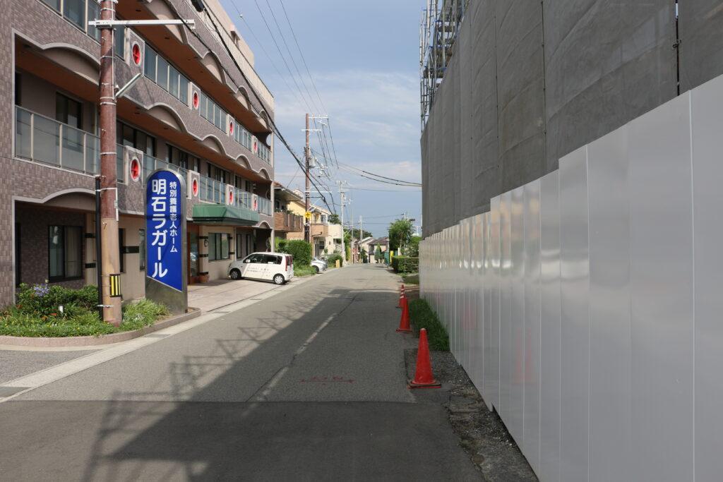 林崎松江海岸駅からBBQエリアまでのアクセス9