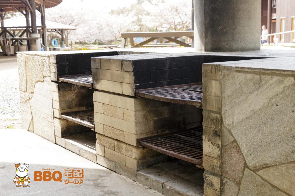 市ノ池公園BBQサイトの炉