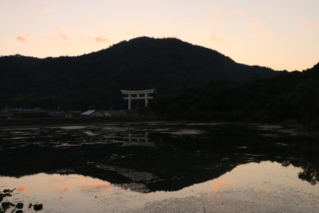 市ノ池公園周辺の鹿嶋神社