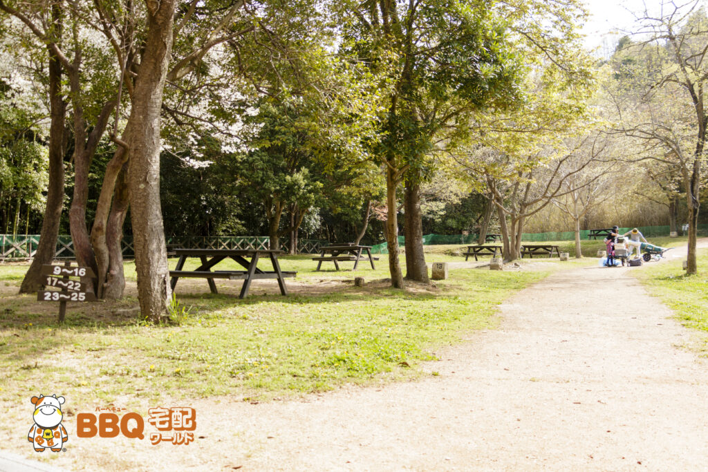 市ノ池公園テントサイト