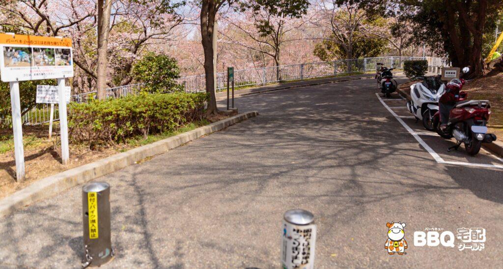 奥須磨公園BBQ場アクセス1