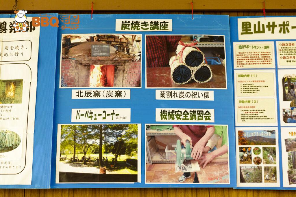 茨木市里山センター炭焼き講座