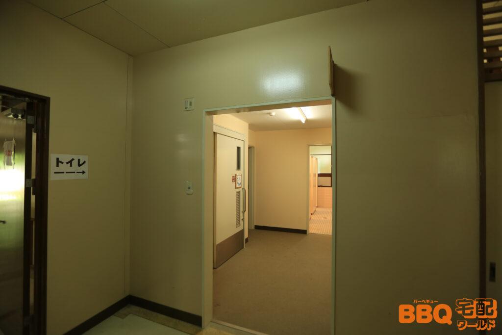 茨木市里山センターのトイレ