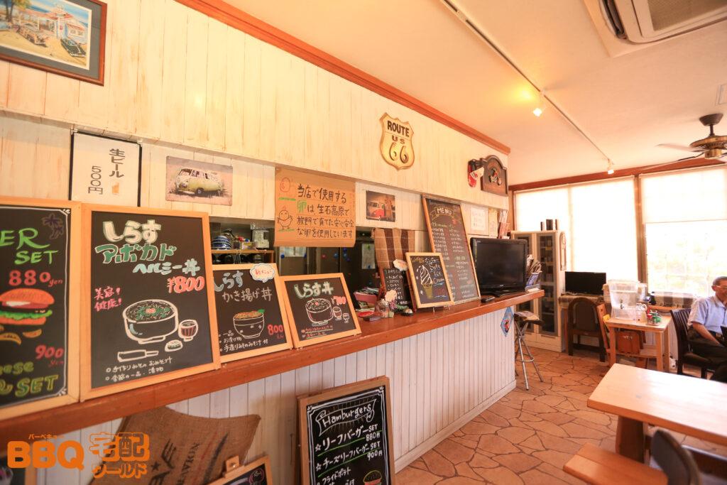 和歌山シーサイドガーデンのカフェ
