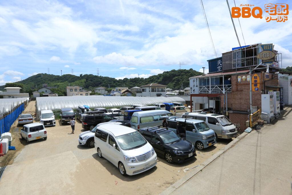 和歌山シーサイドガーデン駐車場