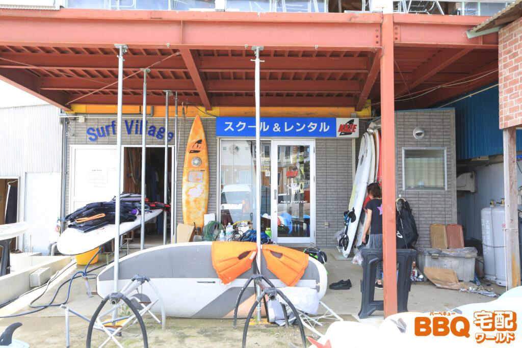 和歌山シーサイドガーデンのサーフィンスクール