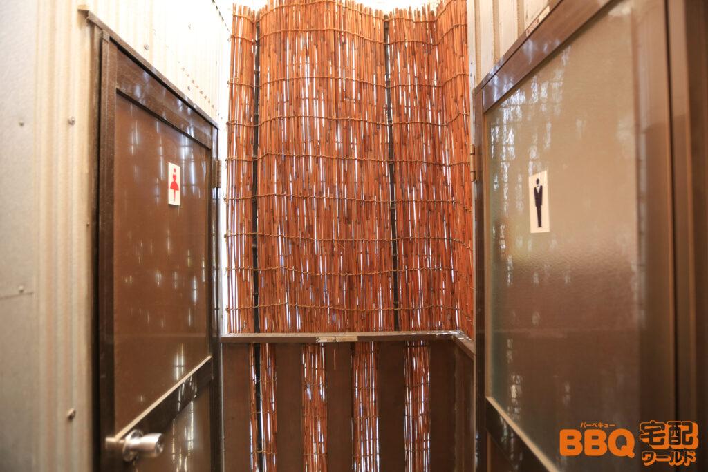 和歌山シーサイドガーデンBBQテラスのトイレ