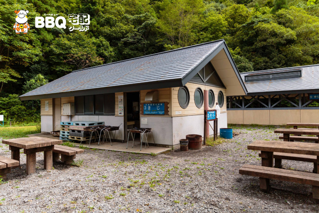 三田市野外活動センター炊飯棟外観