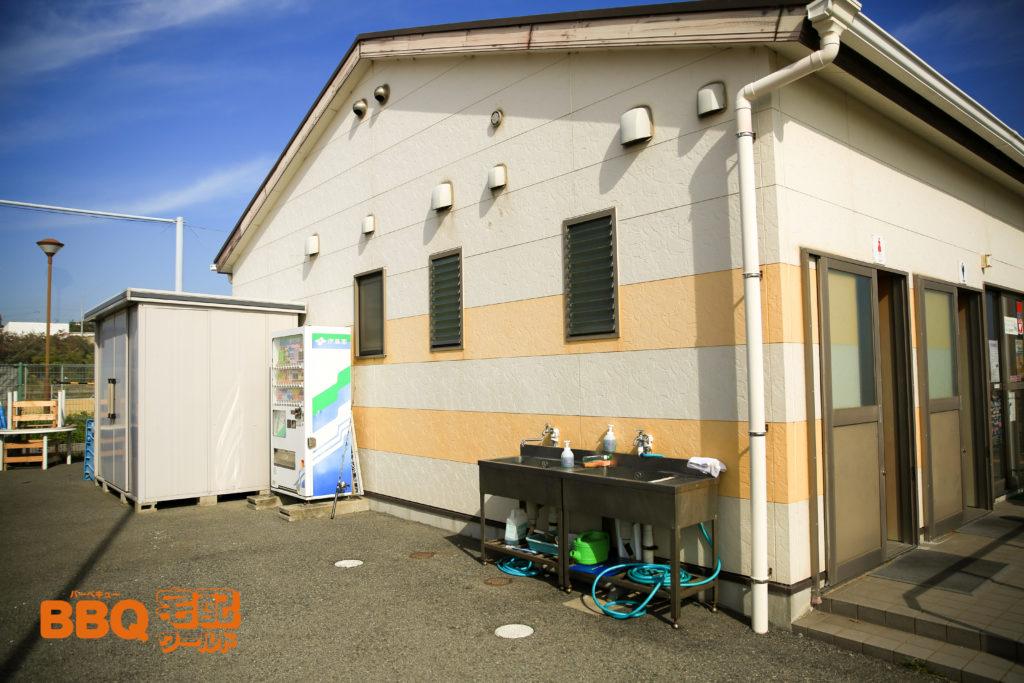 平磯海釣り公園トイレと洗い場