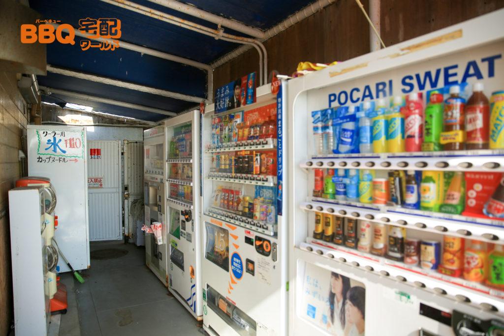 平磯海釣り公園売店横の自動販売機