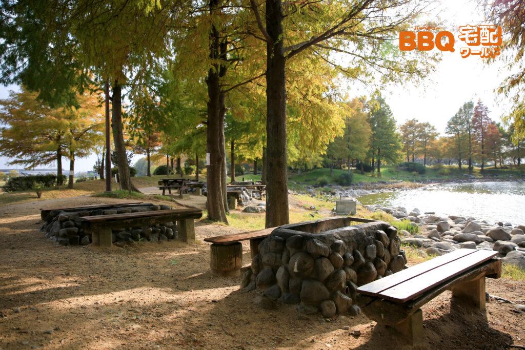 天満大池公園BBQサイト