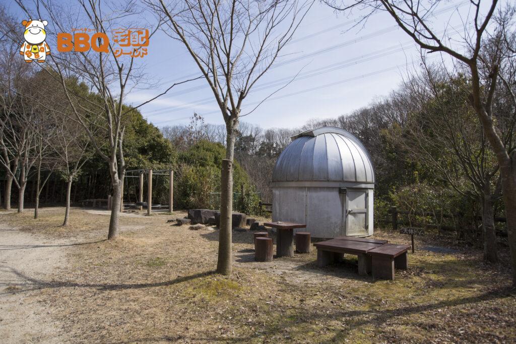 寝屋川市野外活動センターの天体ドーム