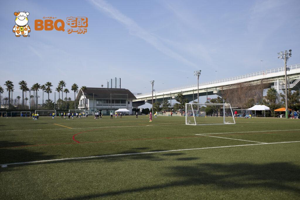 高石市立野外活動センターサッカー場