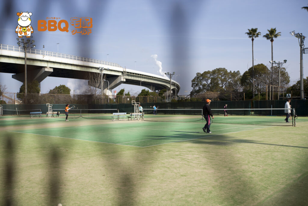 高石市立野外活動センターテニス場