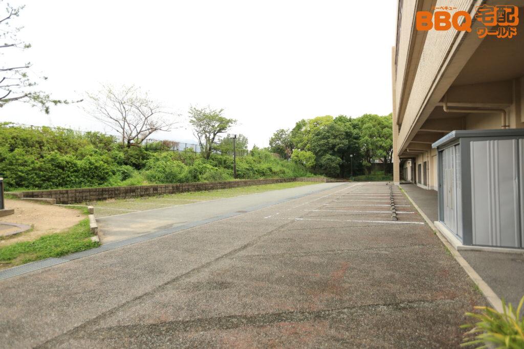 宝塚市立スポーツセンターBBQ施設隣接駐車場