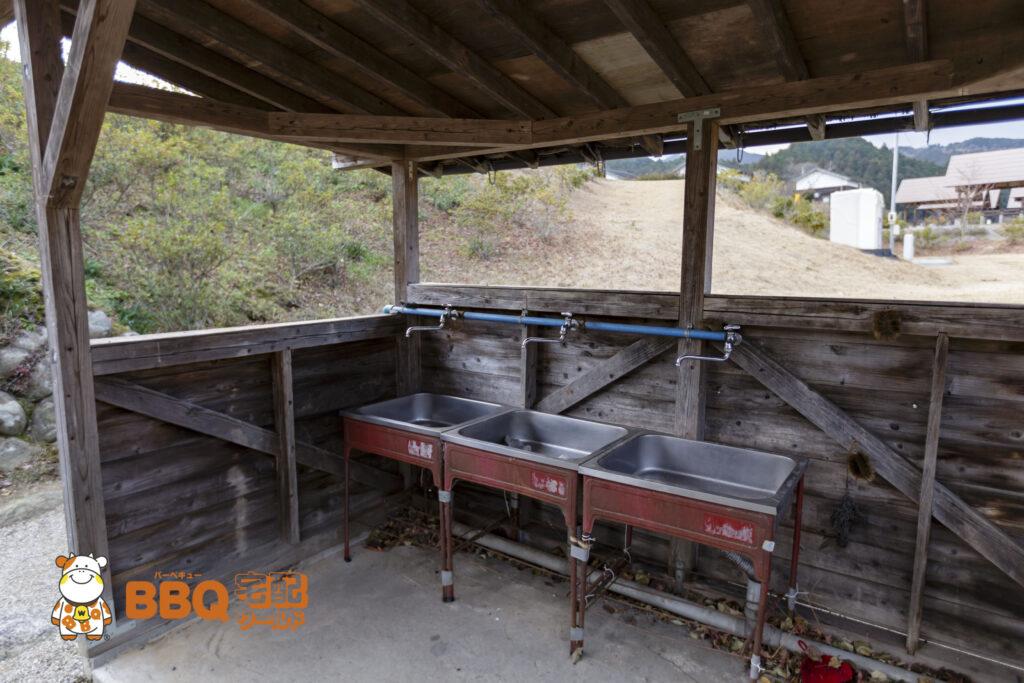 リバーパーク真美BBQ場洗い場