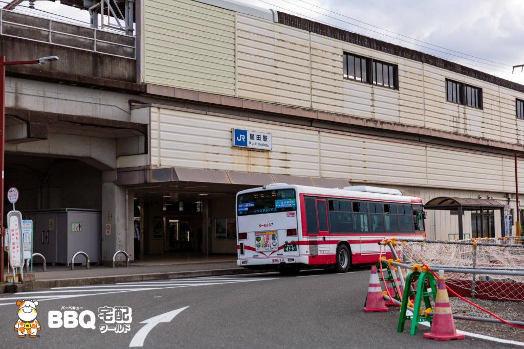 JR星田駅