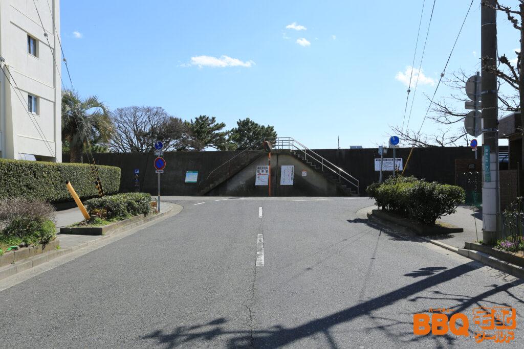 御前浜BBQエリアアクセス(御前浜防波堤)