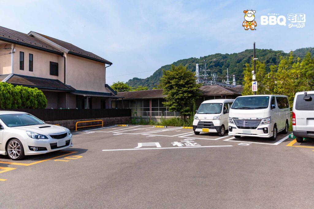 松尾橋BBQ場横の三井のリパーク駐車場月極