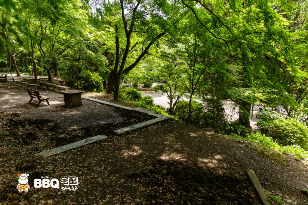 五月山公園BBQ広場②エリア
