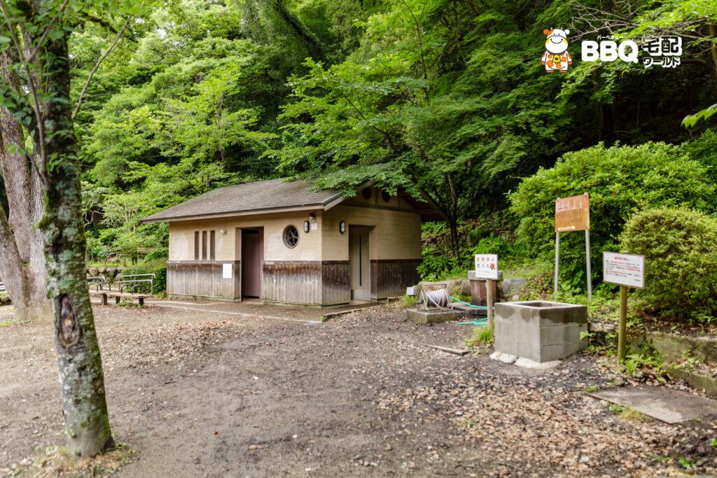 五月山公園BBQ広場トイレ