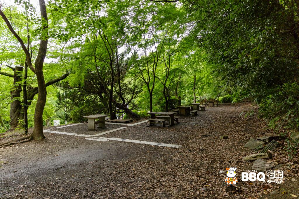 五月山公園BBQ広場上側2