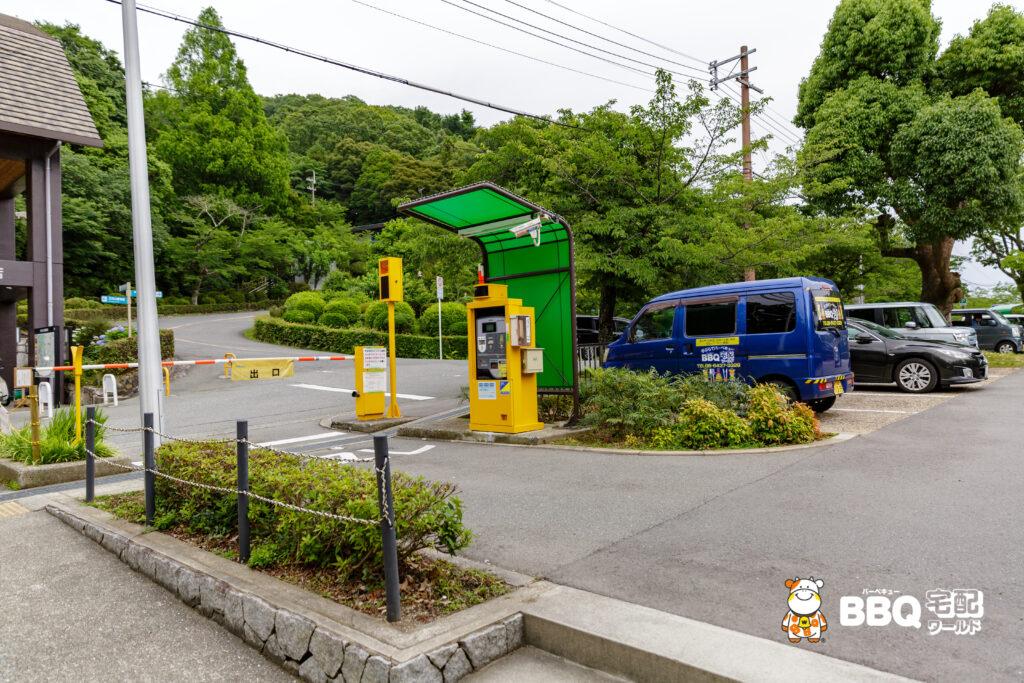 五月山公園の第2駐車場
