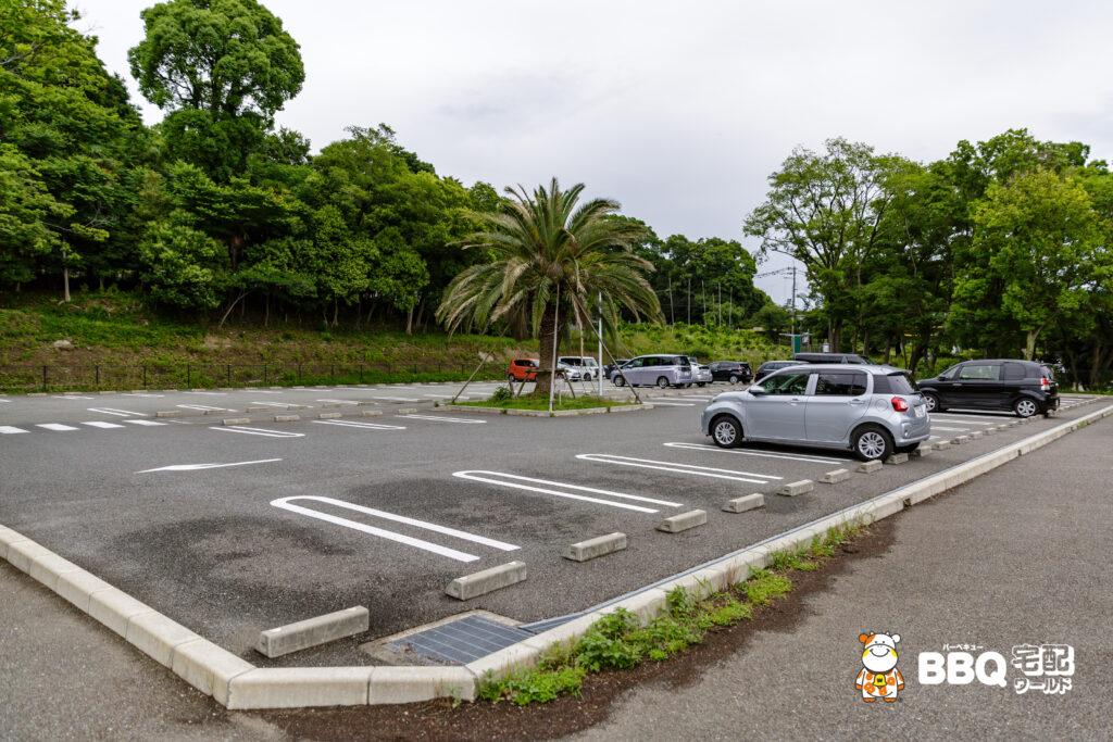 五月山公園の第3駐車場