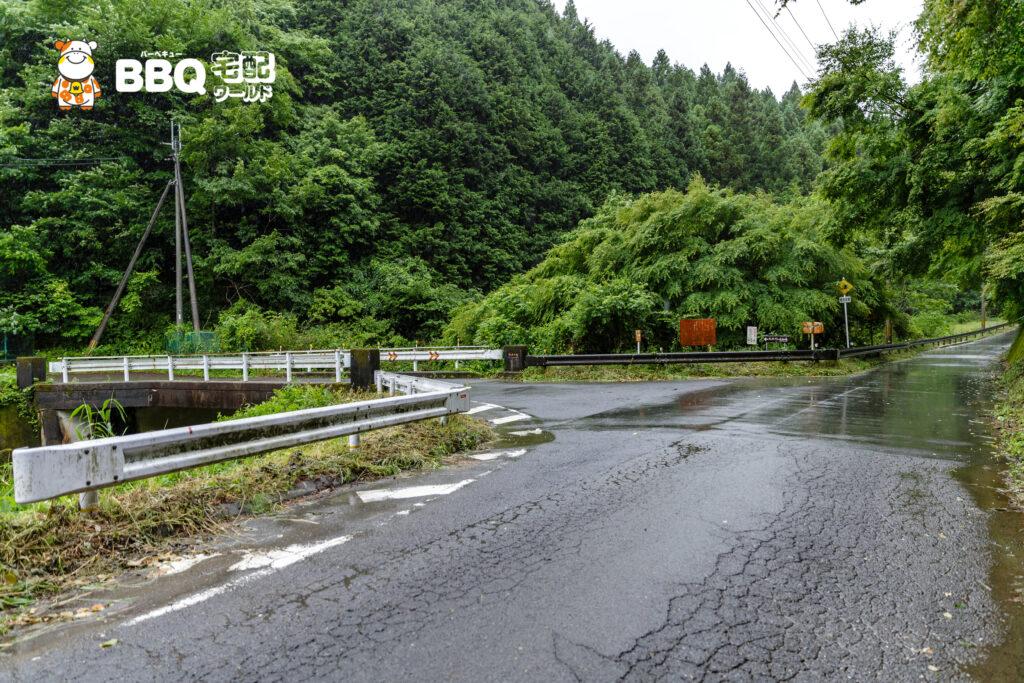 天理ダム風致公園アクセス1