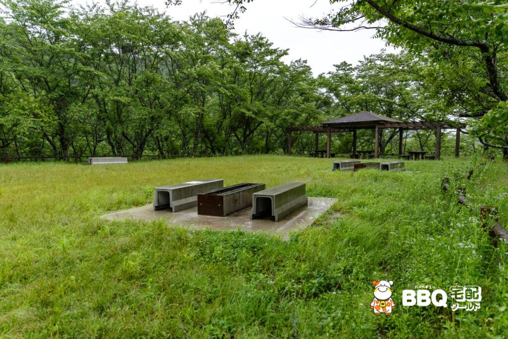 天理ダム風致公園BBQ場2