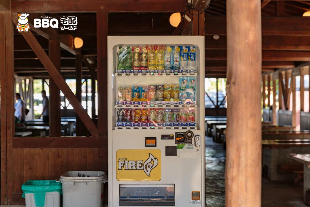 松原BBQハウスの自動販売機