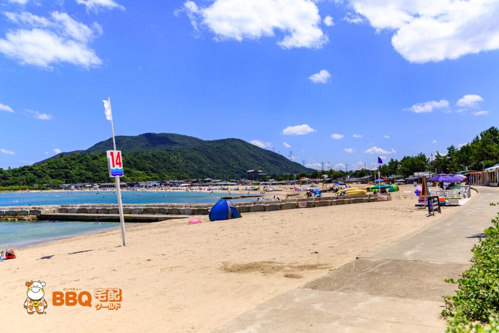 若狭和田海水浴場14番ビーチ