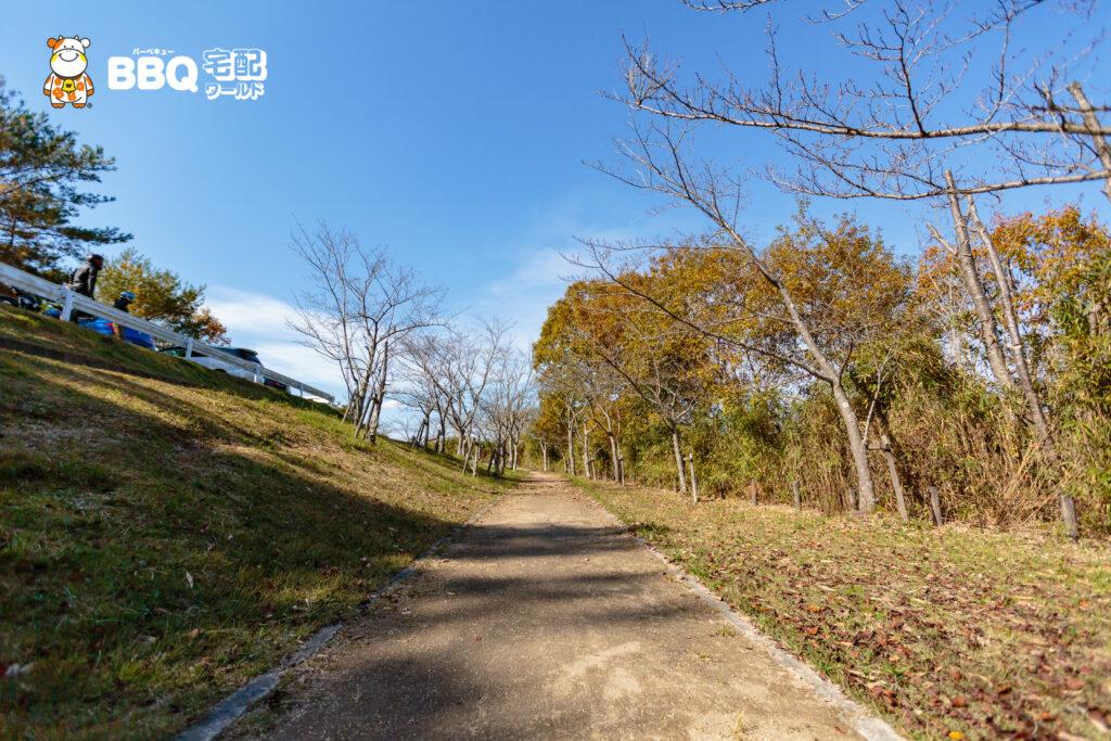 加茂山第2公園BBQエリア3