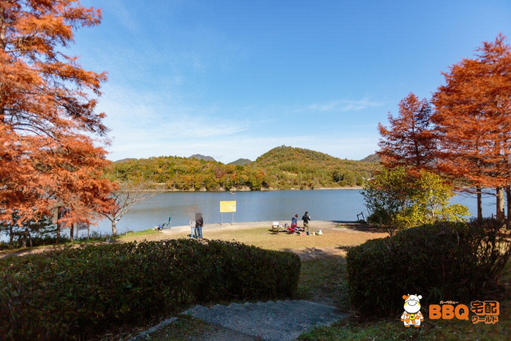 加茂山第2公園BBQエリア4
