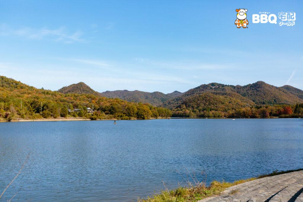 加茂山第2公園BBQエリア眺望