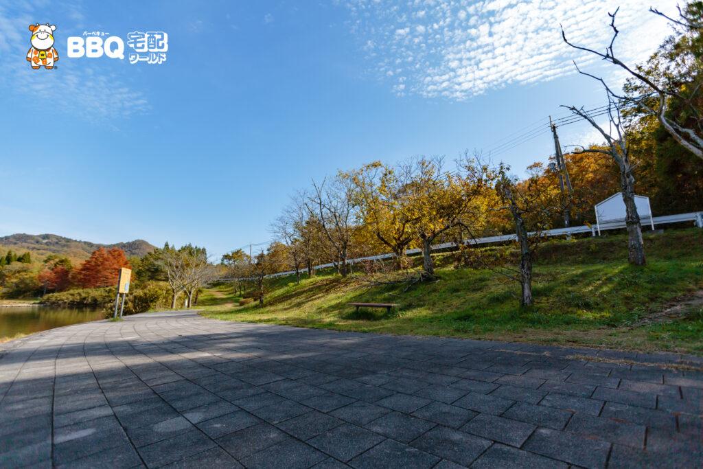 加茂山第3公園BBQエリア1