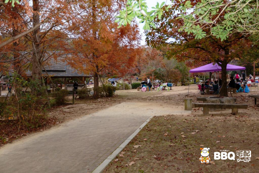 神戸青少年公園デイキャンプ場BBQ1