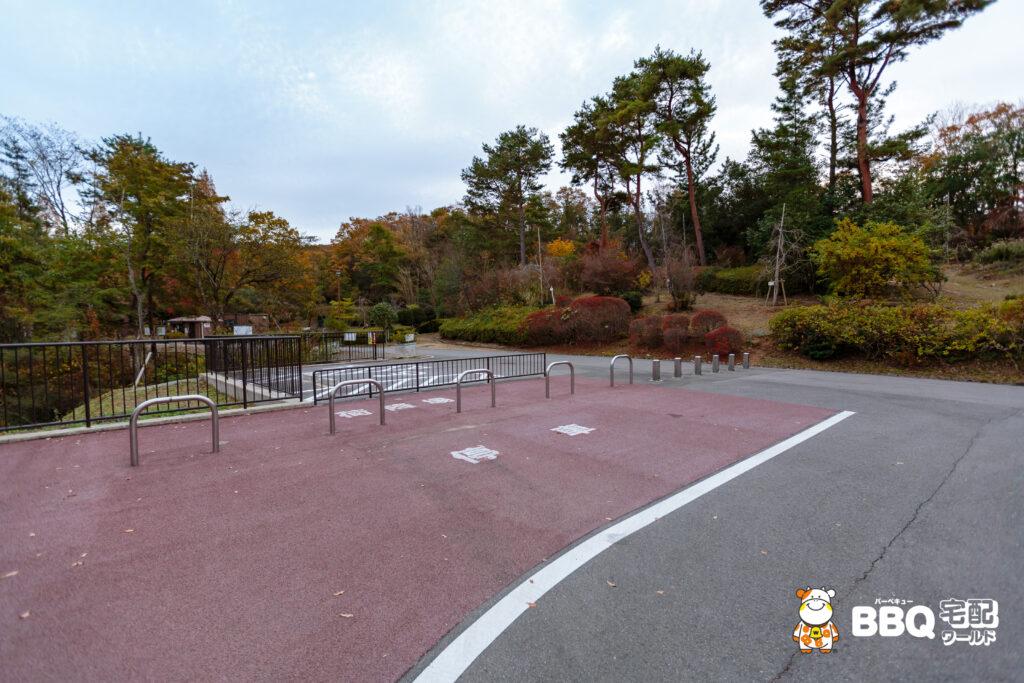 神戸青少年公園デイキャンプ場駐車場3