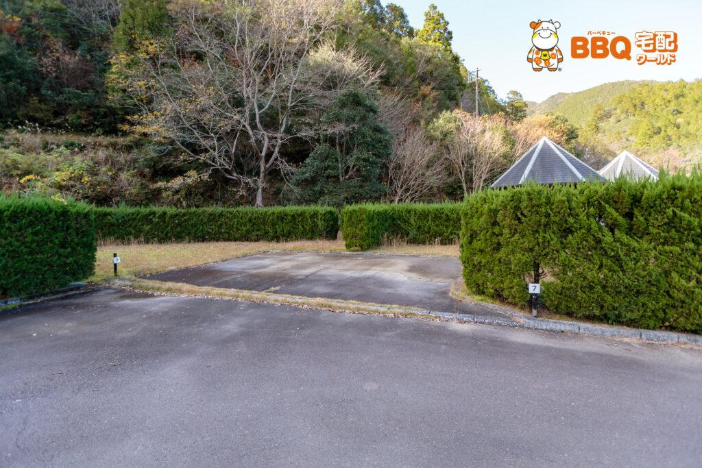 小口キャンプ場サイト7