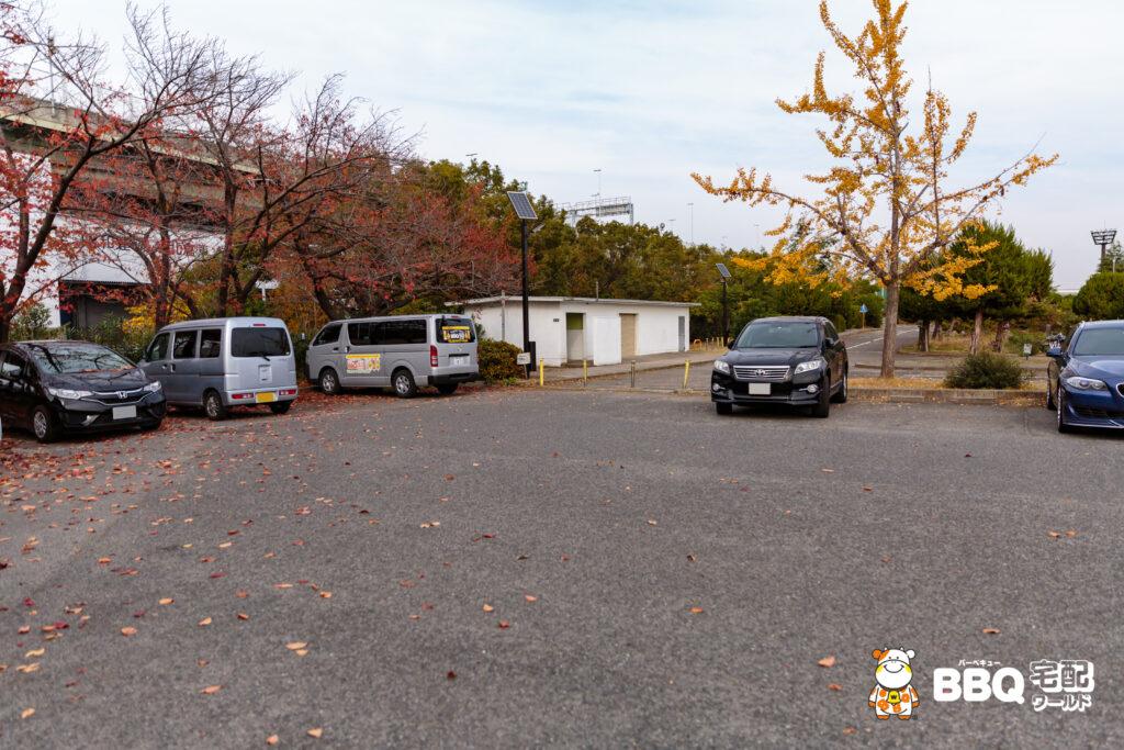 助松公園駐車場1