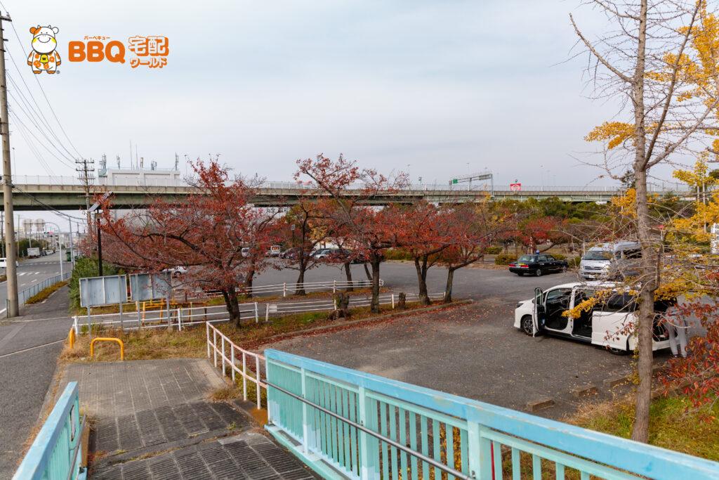 助松公園駐車場3