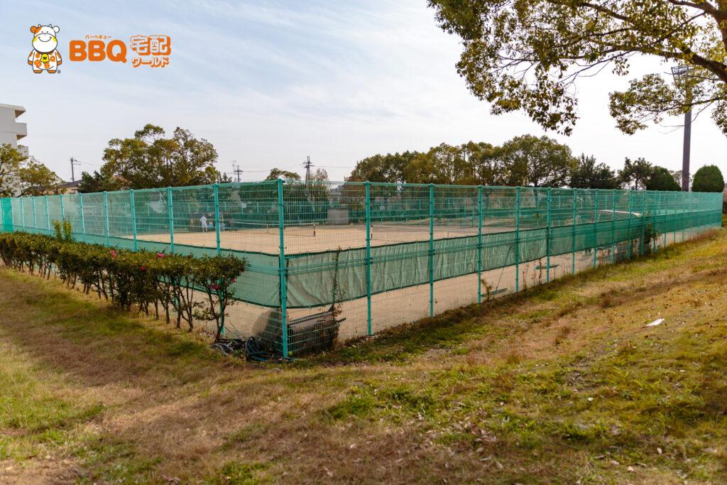 助松公園テニス場