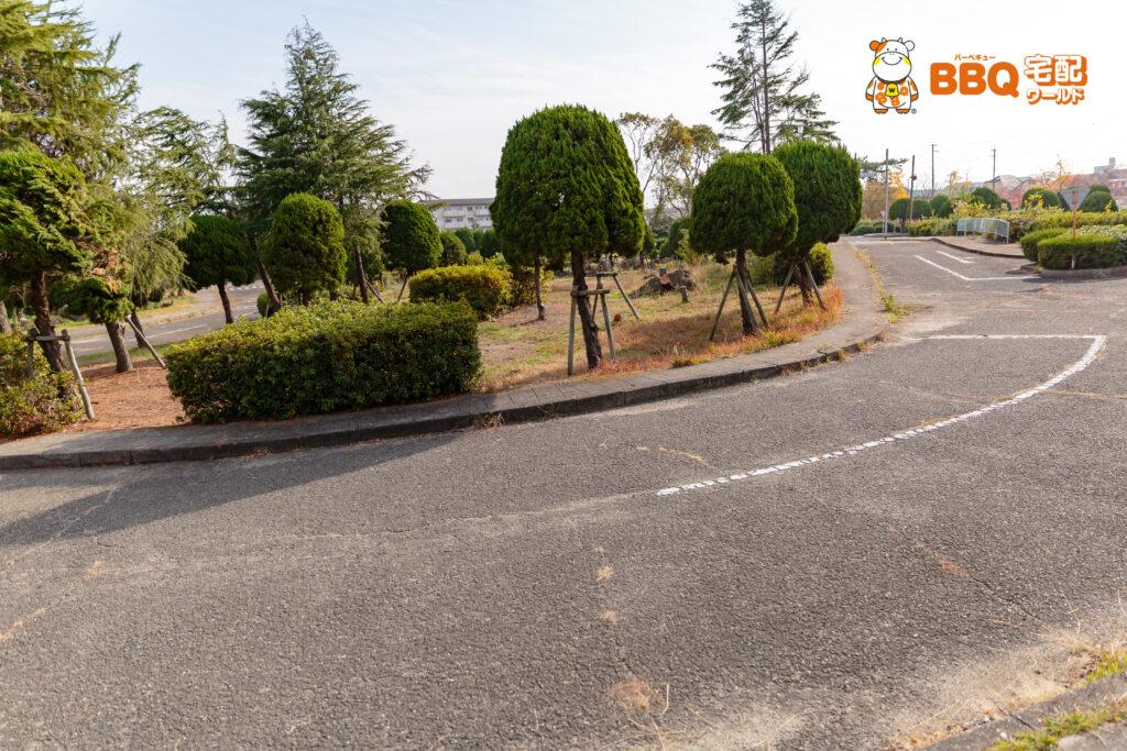 助松公園の交通公園