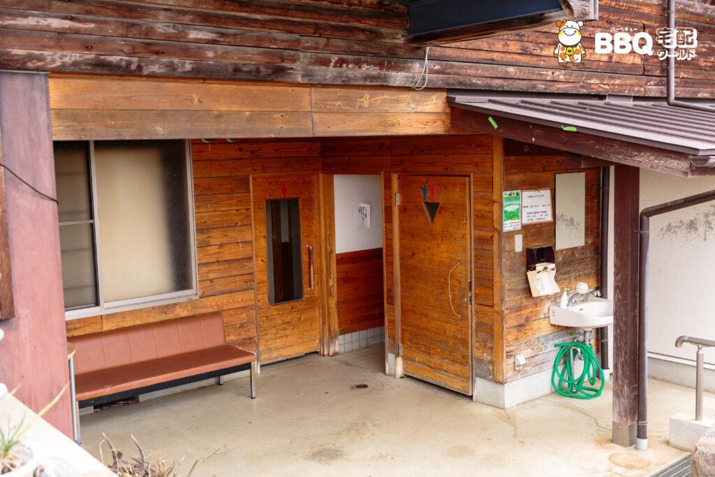 天理観光農園の1階トイレ
