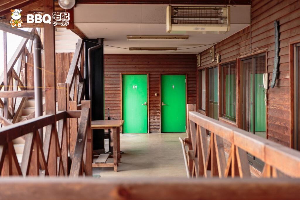 天理観光農園の2階トイレ